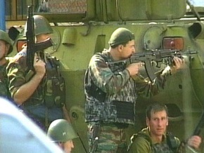 Войска РФ проводят на Кавказе антитеррористическую операцию