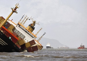У побережья Нидерландов столкнулись два судна