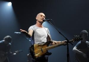 Британский певец Стинг выступил в защиту Pussy Riot