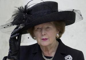 Маргарет Тэтчер похоронят с воинскими почестями