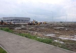 Возле стадиона Арена-Львов нашли мину