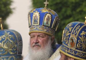 Янукович проведет официальную встречу с патриархом Кириллом