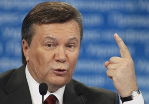 Янукович предложил легализовать частные археологические коллекции