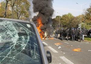 Столкновения молодежи и полиции во Франции: задержаны почти 300 человек