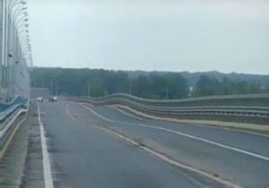 Открытие моста через Волгу, который раскачало с амплитудой в метр, отложили из-за ветра