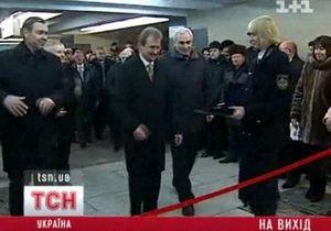 В Киеве открыли третий выход из метро Голосеевская