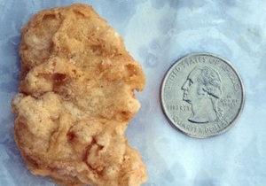 Кусок курицы в виде головы первого президента США продали за $8 тысяч