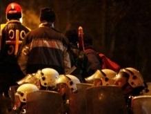 При беспорядках в Белграде ранено более 20 человек