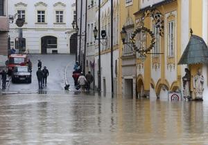 Наводнение в немецком Пассау стало самым масштабным за пять веков