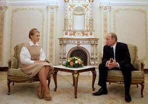 Тимошенко: Россия во время газовых переговоров оказывала давление на всю Украину