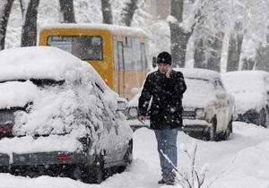 Снегопад в Киеве: КМДА не удается разобраться с парковкой в центре