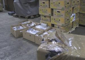 В Бельгию пытались ввезти крупную партию героина в контейнере с бананами