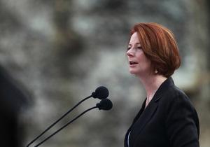 Премьер-министр Австралии заплакала, представляя в парламенте законопроект
