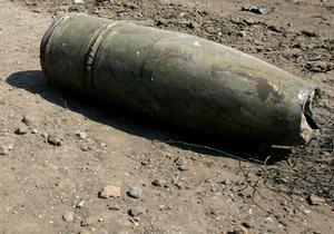 В Запорожье в результате взрыва артснаряда погиб человек