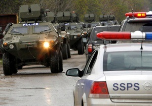 На грузино-российской границе идет операция по задержанию группы вооруженных людей