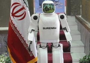 В Иране представили человекоподобного робота