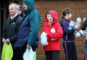40 тысяч жителей Северной Ирландии остались без воды. Шотландия высылает экстренную помощь