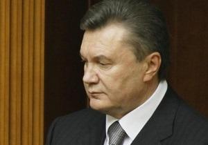 Янукович выразил соболезнования Медведеву в связи с терактами в метро