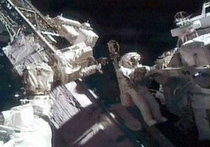 Во время выхода в космос астронавтов Atlantis на МКС отключилось электричество
