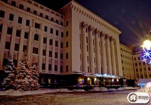 Администрация Януковича подготовилась к празднованию Нового года