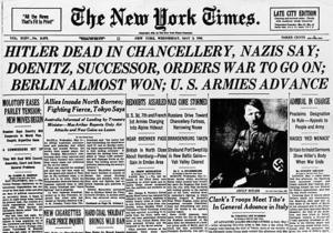 Смерть Гитлера: день в истории