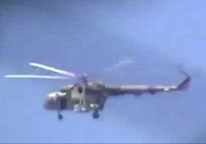 Сирийские повстанцы сбили вертолет над Дамаском