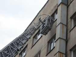 В общежитии Львовского медуниверситета произошел пожар