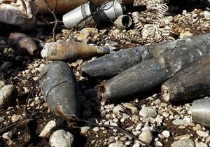 Десять снарядов времен войны обнаружили пиротехники в Черкасской области