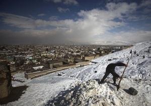 В Кандагаре с гор сошли селевые потоки: 16 человек погибли