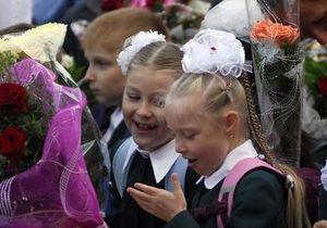 В киевских школах 1 сентября первый урок будет посвящен спорту и здоровому образу жизни