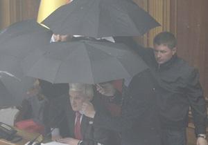 Депутаты требуют прекратить трансляции заседаний ВР (обновлено)
