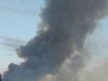 Интер сообщает о масштабном пожаре на Левом берегу Киева