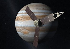 Новости науки - космос - Юпитер: Зонд Джуно уже на полпути к Юпитеру