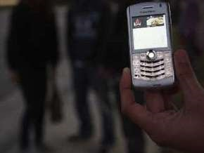 Американский студент написал SMS в воздухе
