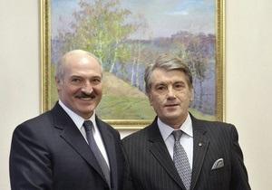 WikiLeaks: США были против встреч Ющенко с Лукашенко