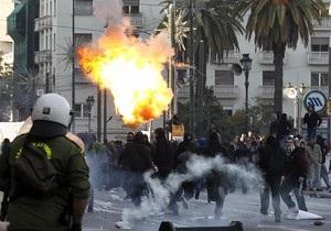 В Греции произошли столкновения полиции со студентами: задержаны 83 человека