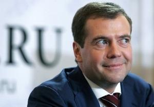 Интервью Медведева  проиграло по популярности телевизионному шоу