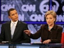 Клинтон вступила в предвыборные дебаты с Обамой