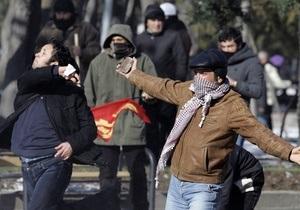 На акцию протеста в Анкаре вышли десять тысяч человек
