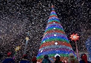 В новогоднюю ночь на Майдане Незалежности обещают фееричную шоу-программу