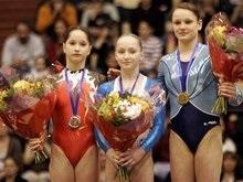 Украинские гимнастки отметились серебром и бронзой европейского первенства