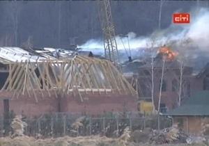 На даче Ющенко под Киевом произошел пожар