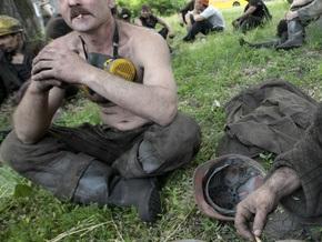 В Донецкой области продолжаются поиски горняков, оказавшихся под завалом