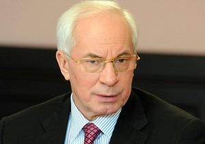 Азаров выразил сожаление по поводу смерти чернобыльца в Донецке