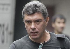 Немцов разбил голову