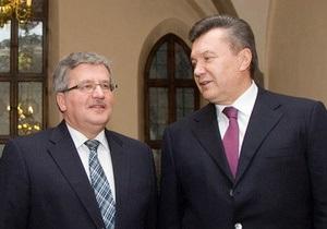 Коморовский подтвердил, что едет в Киев: эксперты не верят в успех переговоров с Януковичем
