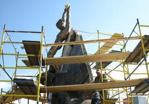 В Дарницком районе Киева открыли памятный знак героям Чернобыля