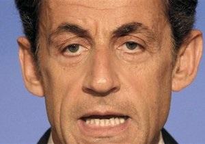 Саркози: Экономике Франции грозит паралич