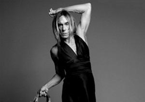 Игги Поп снялся в женском платье в рекламе Dior
