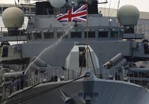 Сирия - Флот Британии начал подготовку к удару по Сирии